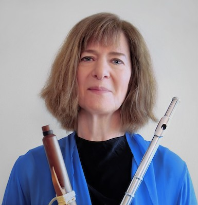Pamela Sklar, composer and flutist. Photo by nestor kyritsis